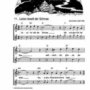 Weihnachtslieder Alt