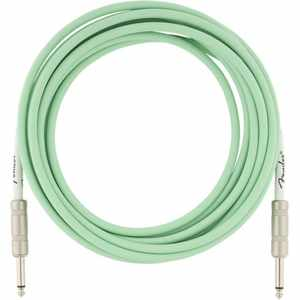 Fender Original Kabel 5,5m SFG Surf Green
