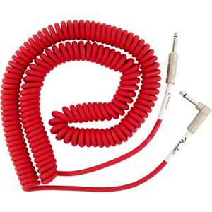 Fender Original Spiral Kabel 9m FR Fiesta Red
