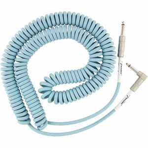 Fender Original Spiral Kabel 9m DB daphne blue