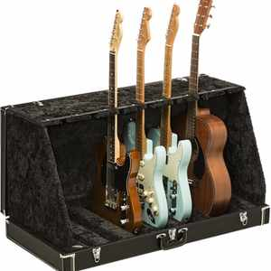 Fender Classic 7er Gitarrenständer Koffer Black