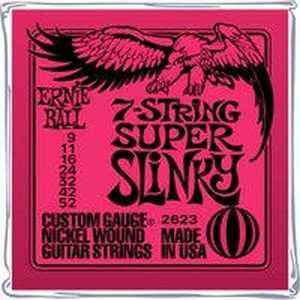 Ernie Ball Slinky Nickel 9-52 7-Saiter