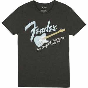 Fender Original Tele Mens Shirt M Gray/Sonic Blue