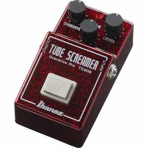 Ibanez TS80840TH Tubescreamer Ltd. 40th Anniversary Ruby Red Sparkle