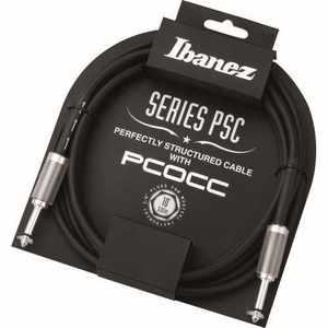 Ibanez PSC10 3,5m Instrument Kabel PLUG - PLUG 10FT STRAIGHT-STRAIGHT    BLACK PVC