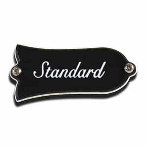 Gibson Truss Rod Cover, Standard BK Black