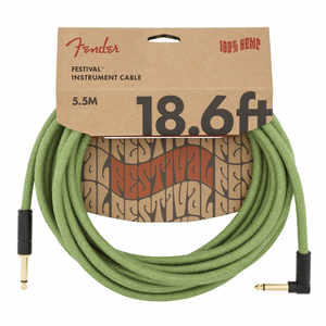Fender Angled Festival Kabel 5,5m GRN Instrument