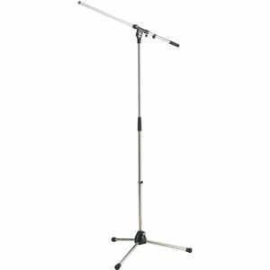 K&M 21020-300-02 Mikrofonstativ mit Schwenkarm verchromt