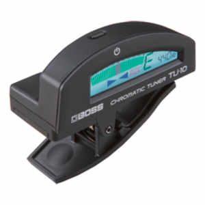 Boss TU-10BK Cliptuner Black