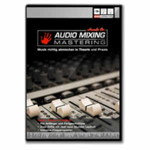 DVD Lernkurs Hands on Audio Mixing Mastering 2 DVDs
