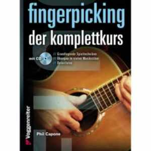 Fingerpicking. Der Komplettkurs (mit CD)