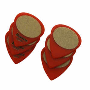 Plecs Sand 6er heavy red RED, HEAVY SAND, 6PCS/SET  Inhalt: 6 Stück