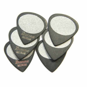 Ibanez BPA16MS-BK Pick SET Sand Grip Medium
