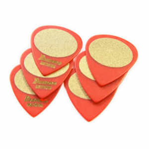 Plecs Sand 6er medium rot RED, MEDIUM SAND, 6PCS/SET  Inhalt: 6 Stück