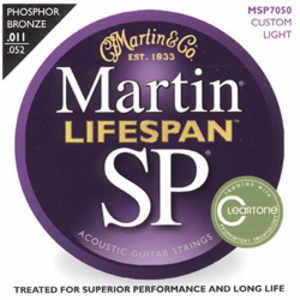 Martin MSP-7050 Lifespan Westerngitarren Saiten 11-52