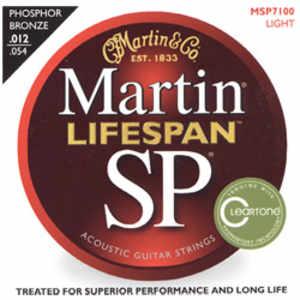 Martin MSP-7100 Lifespan Westerngitarren Saiten 12-54
