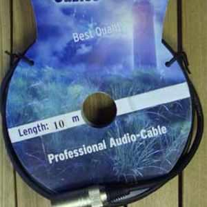 Zombie Mikrofon Kabel XLR 10m schwarz