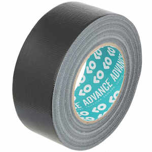 Adam Hall Advance Gaffa Tape schwarz