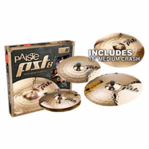 "Paiste PST 8 Universal Set + 18"" Crash"