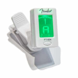 Fender FT-004 Chromatic Clip Tuner White