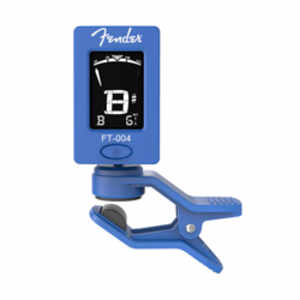 Fender FT-004 Chromatic Clip Tuner Blue