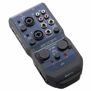 Zoom U-44 4in/4out Handy Audio Interface
