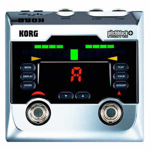 Korg Pitch-Black Plus Floor Tuner Chrom