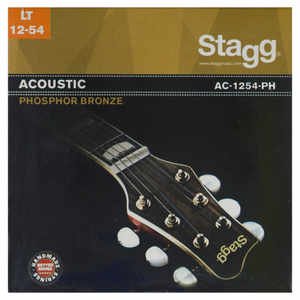 Stagg AC-1254-PH Saiten Westerngitarre