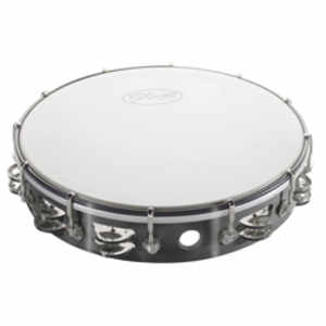 Stagg TAB-212P/BK Kunststoff Tambourin 12""