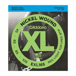 D'Addario EXL-165 Nickel E-Bass Saiten 045-105