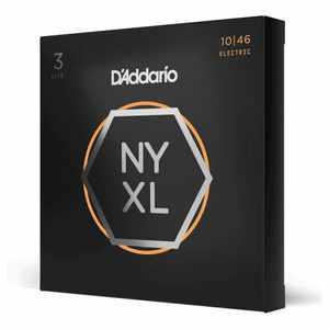 D'Addario NYXL1046-3P 3er Set  E-Gitarren Saiten