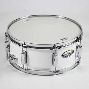 Pearl Snare Decade Maple white satin pearl 14x5,5