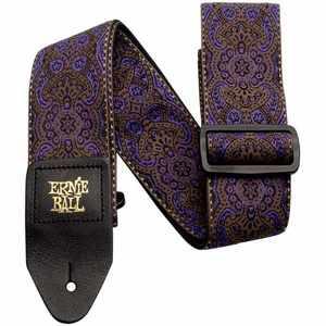 Ernie Ball EB4164 Gurt Jacquard Purple Paisley