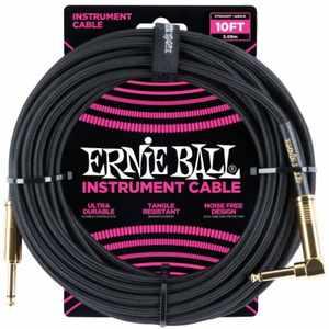 Ernie Ball EB6081 Instrumentenkabel 3m schwarz