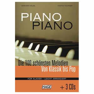 Piano Piano - Die 100 schönsten Melodien + 3 CD`s