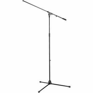K&M 21021 Mikrofonstativ Overhead schwarz