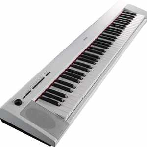 Yamaha NP-32 WH Portable Piano weiss