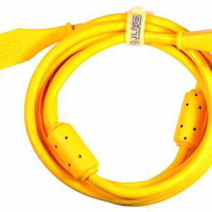 DJ Tech Tools DJTT USB chroma cable angulate 2m, geschirmt, orange