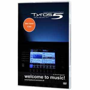 Yamaha DVD Tyros 5 Schritt für Schritt