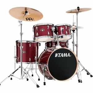 Tama IE58H6W-CPM Imperialstar inkl. Hardware und Becken CANDY APPLE MIST