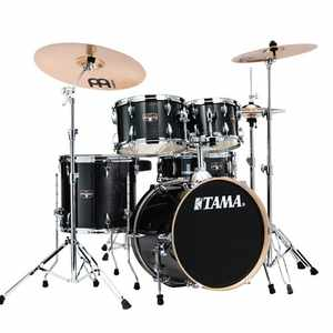 Tama IE58H6W-HBK Imperialstar inkl. Hardware und Becken  HAIRLINE BLACK