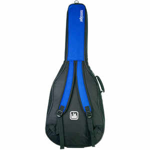 Tonträger Gig Bag Konzertgitarre 4/4 blau/schwarz