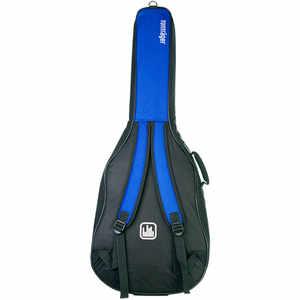 Tonträger Gig Bag Konzertgitarre 1/2 blau/schwarz