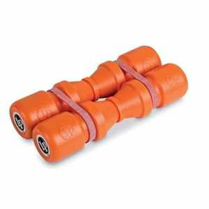 Latin Percussion Duoshaker 4x17cm loud/orange LP441L