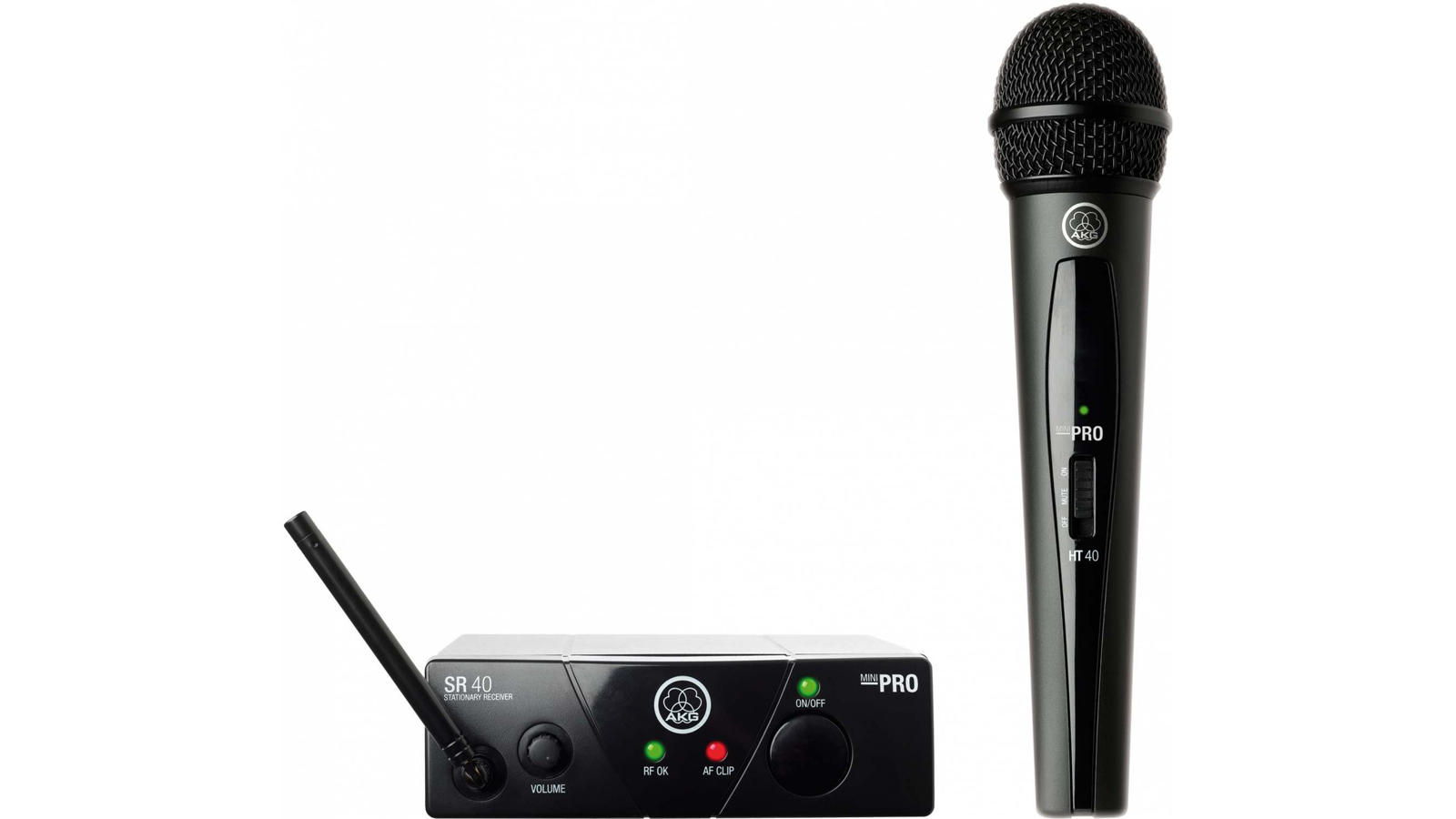 AKG WMS 40 Mini Vocal Set  ISM3: 864.850 MHz