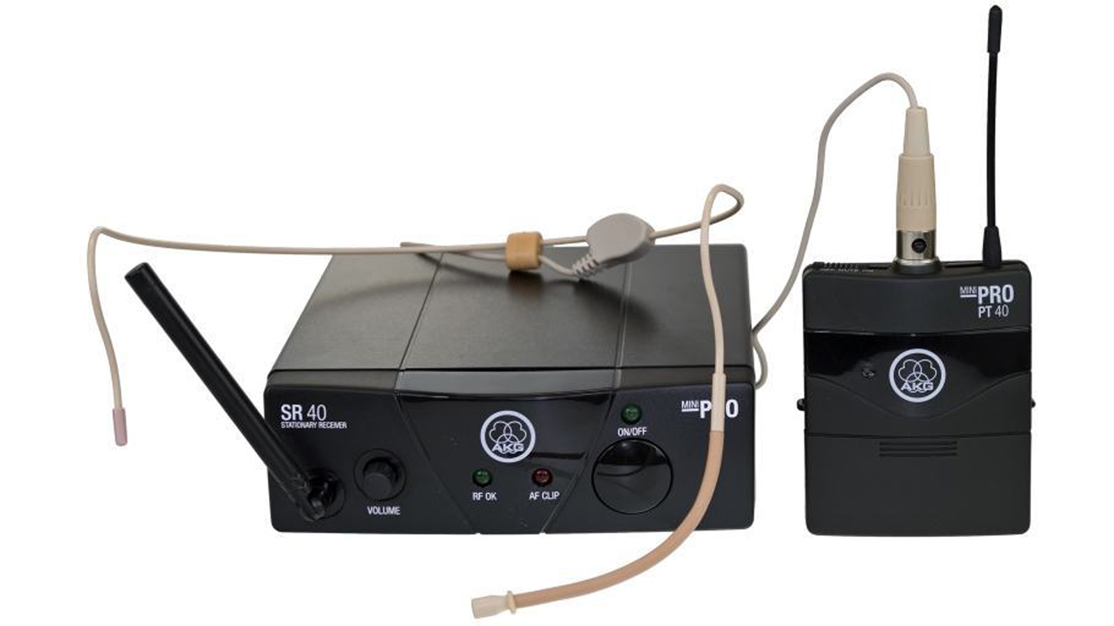 AKG WMS 40 Mini Sport Set ISM1 863-865 MHz anmelde- und gebührenfrei