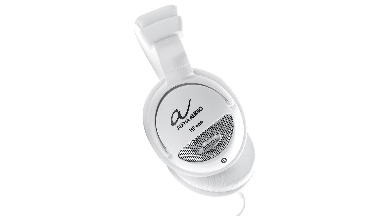 Alpha Audio Kopfhörer HP One White