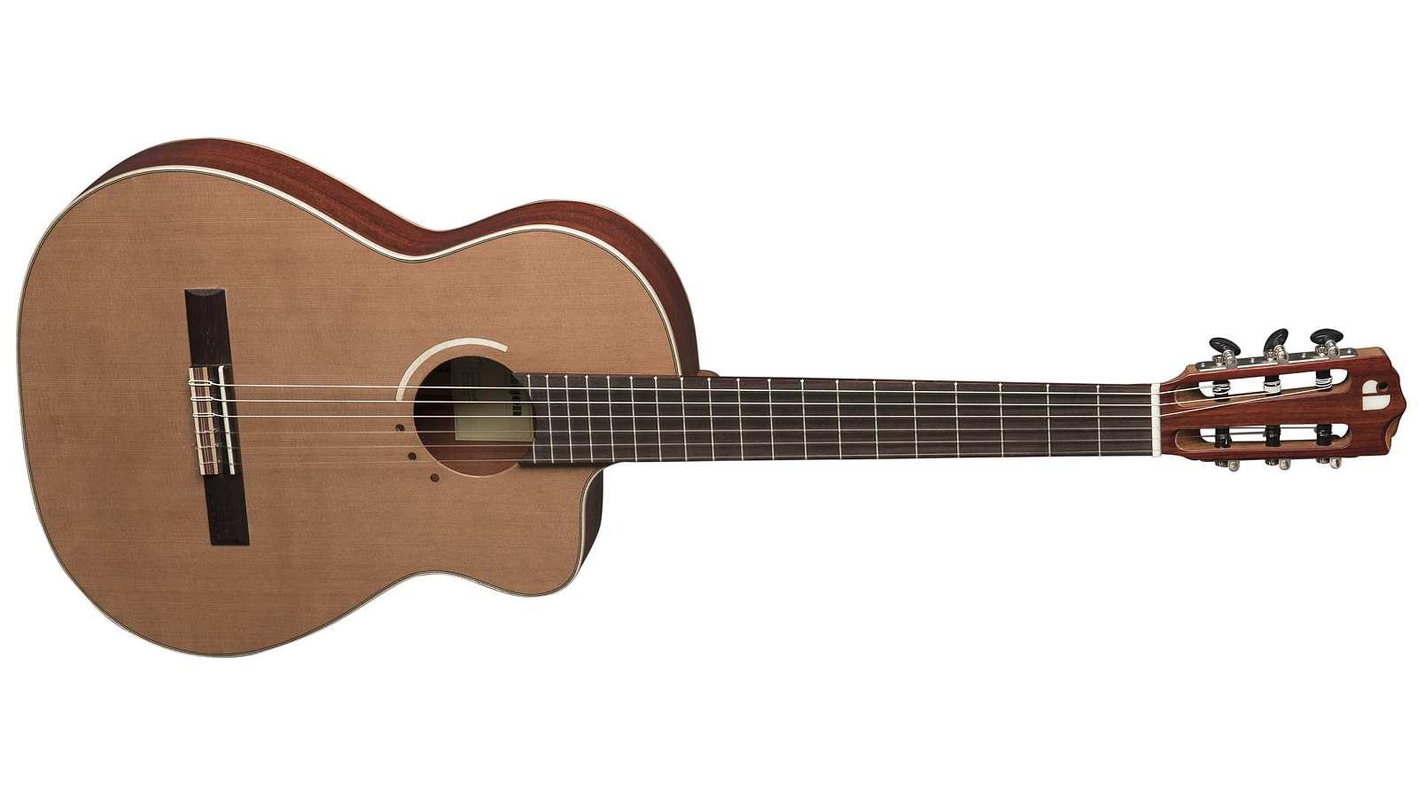 Aragon AF-S635CECE Silver Line Konzertgitarre