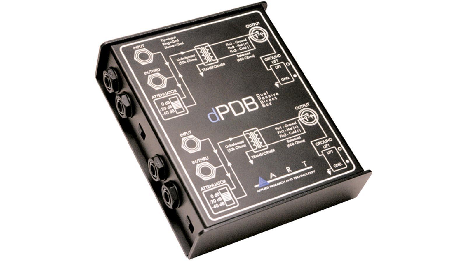 ART dPDB Passive 2-Kanal-DI-Box