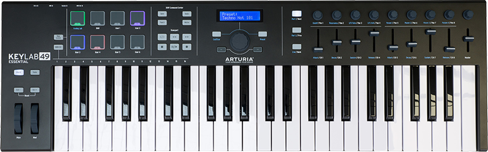 Arturia KeyLab Essential 49 Black Limited Edition